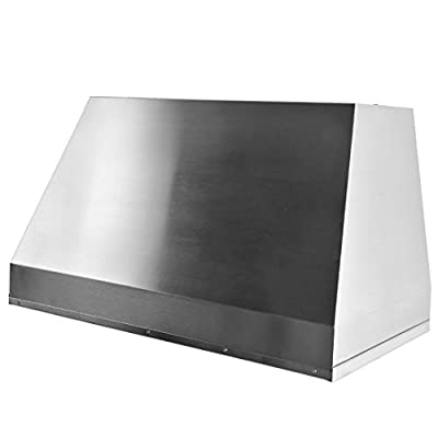 "CAVALIERE 40"" Under Cabinet / Wall Mounted Stainless Steel Liner Kitchen Range Hood 1000 CFM AP238-PS19L-40"