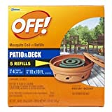 Off! Off! Mosquito Coil Refill, 5 Count(total net wt. 1.765oz)