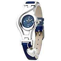 Dk Analogue Blue Dial Girl's &...