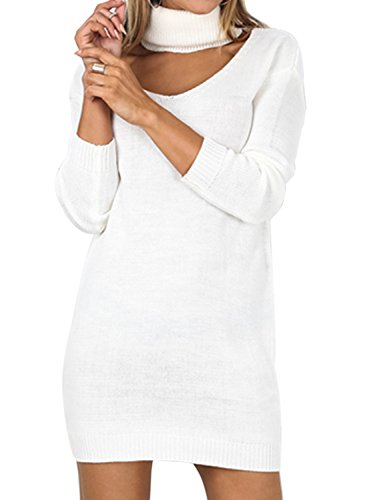 Choies Knitted Bodycon Pullover Sweater