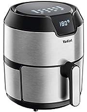مقلاة ايزي فراي من تيفال للقلي بالبخار وبزيت أقل تعطي طعامًا مقليًا لذيذًا بزيت قليل أو من دون زيت وبواجهة رقمية، 4.2 لتر، موديل EY401D27