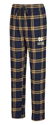 Concepts Sport Notre Dame Fighting Irish Men's Pajama Pants Plaid Pajama Bottoms (Large)