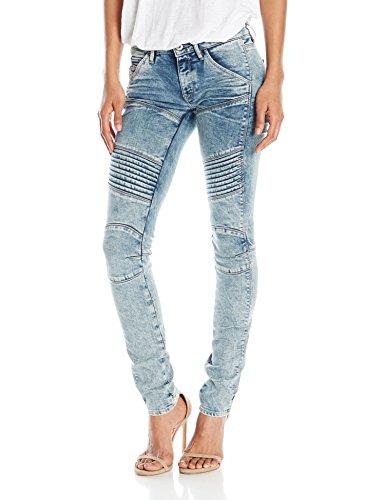 - G-Star Raw Women's 5620 Custom Mid Rise Skinny Fit Jean in Tobin, Light Aged, 30