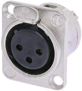 Neutrik USB Female Device Socket Chassis Mount 5 PACK
