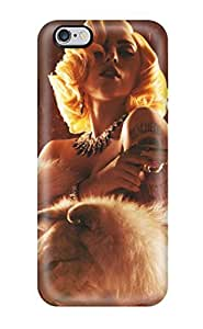 Oscar M. Gilbert's Shop Rugged Skin Case Cover For Iphone 6 Plus- Eco-friendly Packaging(machete Kills Lady Gaga)