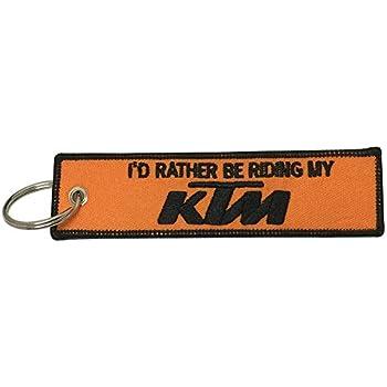 Amazon.com: Orange KTM Logo Keychain: Automotive