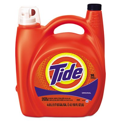 Ultra Liquid Laundry Detergent with Pump Dispenser by Tide