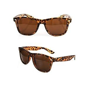 New Tortoise Shell Classic 80s Sunglasses Retro 80s Vintage Fashion Shades