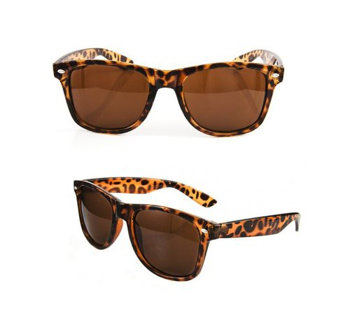 New Tortoise Shell Classic 80s Sunglasses Retro 80s Vintage Fashion - Ray Shell Bans Tortoise Wayfarer