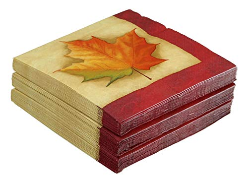48 Paper Dinner Napkins, Fall Breeze by Party Creations]()