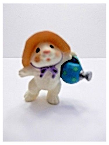 (HMK Rabbit with a Watering Can 1994 Valentine Merry Miniature by Hallmark)
