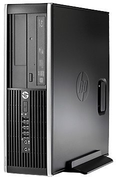 2016 HP Slim Business 6305 Prodesk Desktop (AMD Dual-Core CPU up to 3.6GHz, 8GB DDR3, 500GB HDD, DVD, Windows 7/10 Pro) (Certified Refurbished) by hp
