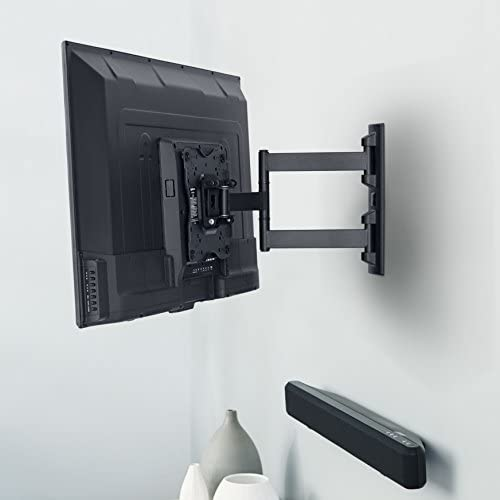 AmazonFundamentals Heavy-Duty, Full Motion Articulating TV Wall Mount for 22-inch to 55-inch LED, LCD, Flat Screen TVs