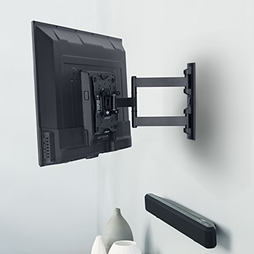 55 inch tv wall mount amazonbasics articulating tv wall mount for 22 inch to 55 31510