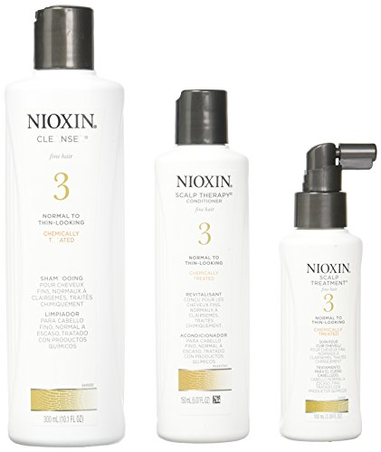 Nioxin Fragrances (Nioxin System 3 Piece Kit for Fine Normal to Thin Looking Hair)