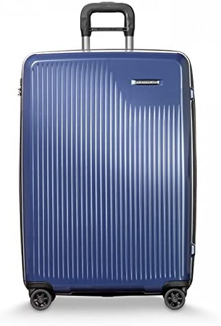 Briggs Riley Sympatico Expandable Carry-On CX 30 Spinner, Marine Blue