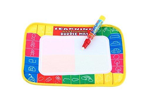 Doodle 学習 絵画 描画 ライティングボード 布製 消せるマット おもちゃのギフト 子供用