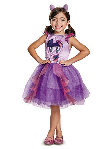Twilight Sparkle Movie Toddler Classic Costume, Purple, Medium (3T-4T) -