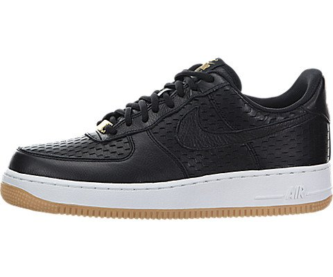 Nike Womens Air Force 1 07 Prm Black/Black/Summit White Basketball Shoe 8 Women US