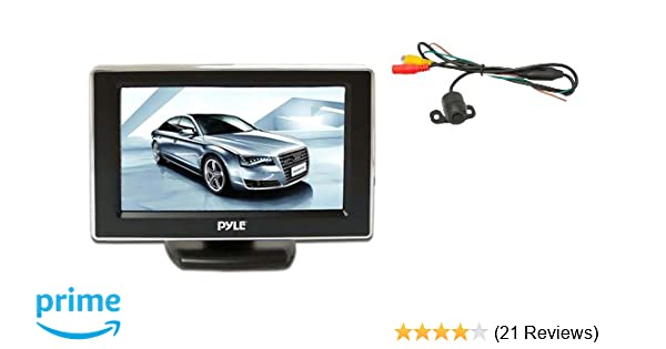 Exterior Self-Conscious 4 Ir Light Car Reverse Rear View Camera Night Vision Wide Angle Waterproof Car Video