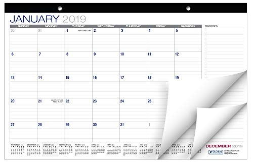 Table Calendar (Desk Calendar 2018-2019: 11
