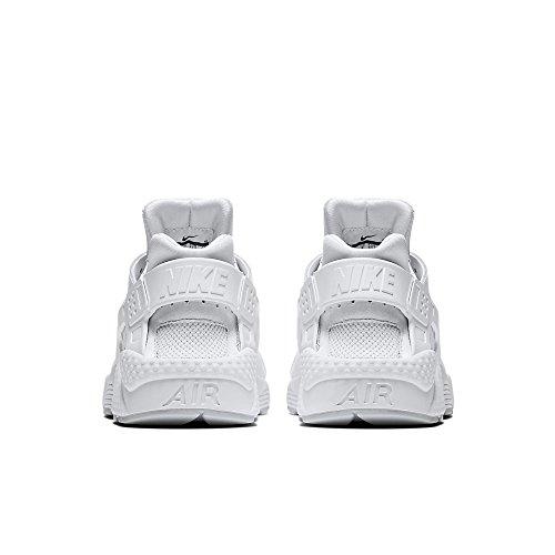 Nike Uomo Air Huarache Scarpe Sportive Bianco puro Platino bianco