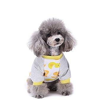 Mascotas De Cuatro Patas Pijamas Mq Sy05 Pequeño Pato Amarillo Lindo