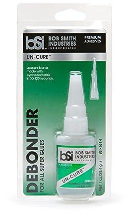 Bob Smith Industries BSI-161H UN-CURE Super Glue Debonder, 1 fl. oz.