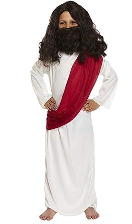 Boys Joseph Jesus Christmas Nativity Easter Religious Fancy Dress Costume Outfit