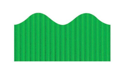 Pacon Bordette Decorative Border - 2 1/4 inch x 50 foot roll - Emerald Green Color: Emerald, Model: PAC37146, Home & Tools