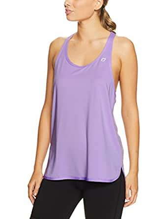 Lorna Jane Women's Mind and Body Excel Tank, Dusty Lilac, X-Small