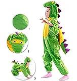 子供用 恐竜コスチューム ハロウィン着ぐるみ コスプレ Lサイズ 105~120cm
