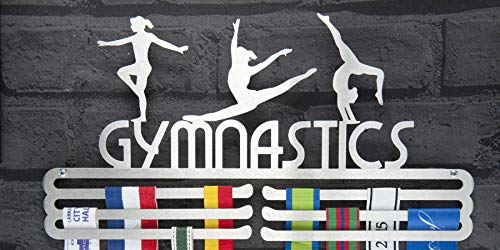 Runners Wall Gymnastics Medal Display Holder