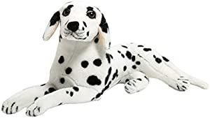 Free BEJOY Realistic Dalmatian Stuffed Animal Dog Soft...