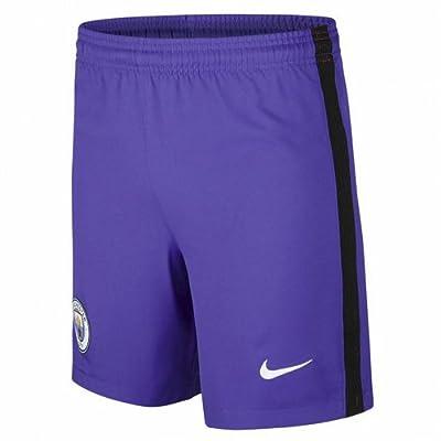 2016-2017 Man City Third Nike Football Shorts (Kids)
