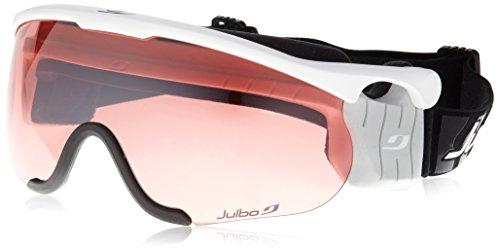 Julbo Nordic SNIPER Ski Goggle, Interchangable Lens, Matte White, Medium ()