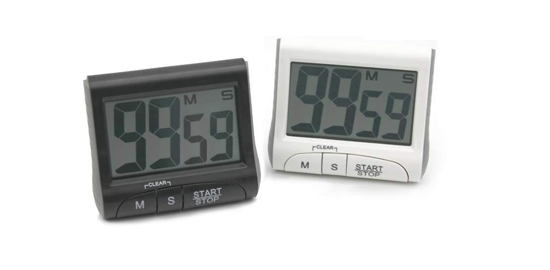 Num/érique Cuisine Grand Chiffre Minuterie Count-Up Up Horloge Alarme Haute