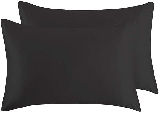 Amazon Com Juwenin Bedding Luxury Satin Pillowcase With Zipper