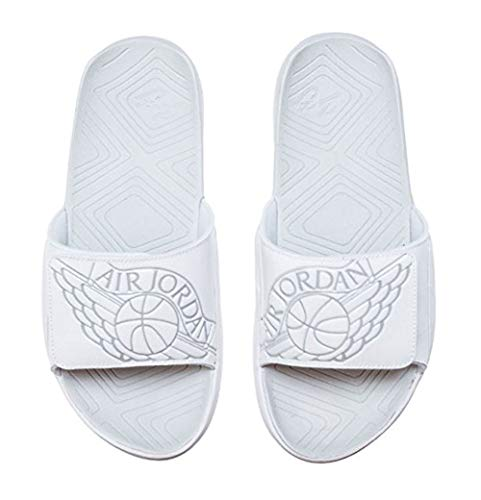 NIKE Jordan Hydro 7 Mens Sandals AA2517-100_14 - White/Pure Platinum ()