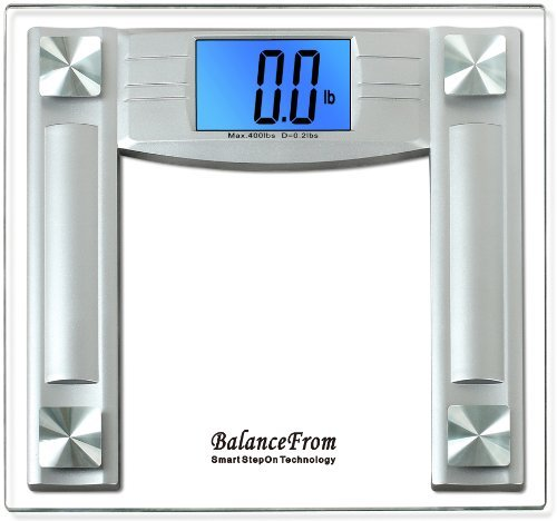 Bathroom Scale Ratings: Review: BalanceFrom High Accuracy Bathroom Scale