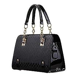 Ladies Patent Purse Pu Leather Unique Handbag For Women Crossbody Messenger Bag Shoulder Bag Pocketbook