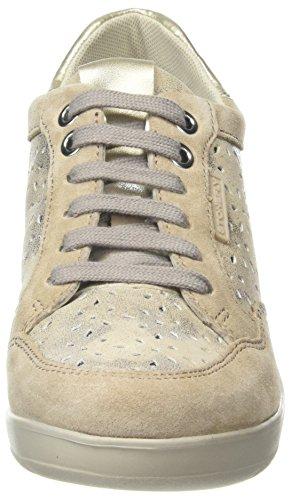 Stonefly Damen Ebony Sneaker, Beige (Desert 221), 35 EU