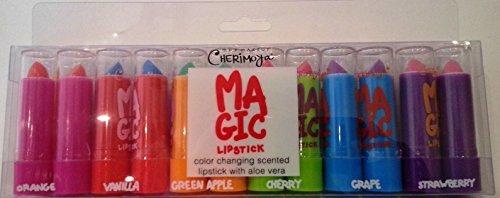 Fruit Scented Aloe Vera Color Changing Magic Mood Lipstic...