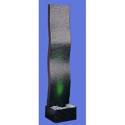 Aqua Fall Wave AF-2W Floor Fountain Finish: Black