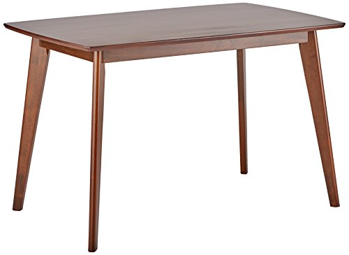 Asian Modern Furniture - Coaster 103061 Home Furnishings Dining Table, Chestnut