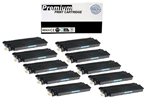 JSL 10pk E40 Black Toner Cartridge For Canon PC920 PC921 PC940 ()