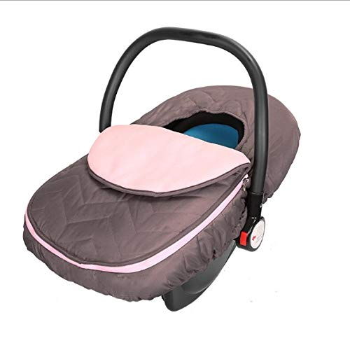 Myfreed Cozy Cover Infant Car Seat Cover Baby Carrier Cover Windproof Weatherproof Winter Warm Cover (#1)