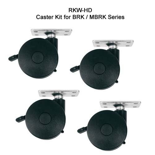 RK/ BRK Series optional 4 Wheel Kit Wheel Kit: Heavy Duty