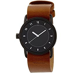 TID watch designer watch leather pull through TID01-36BK / T Men's [regular imported goods]