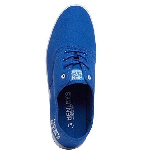 Henleys Herren Niedrig Blau